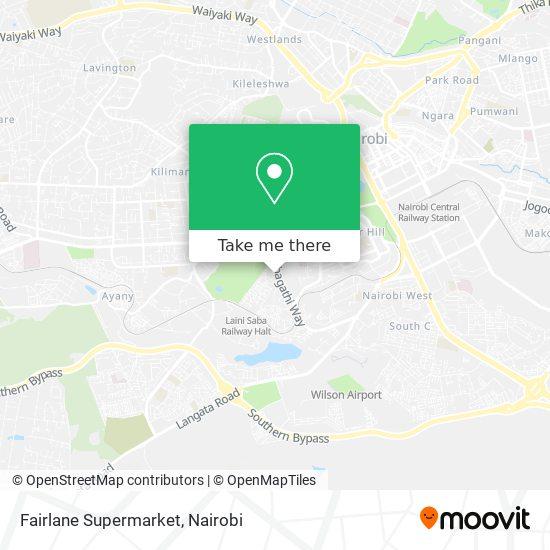 Fairlane Supermarket map