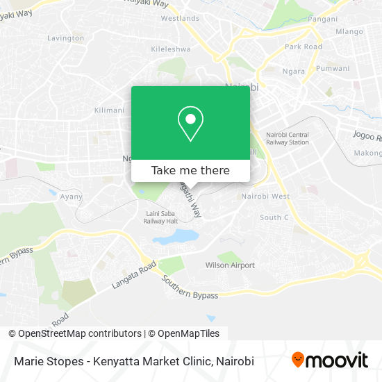 Marie Stopes - Kenyatta Market Clinic map
