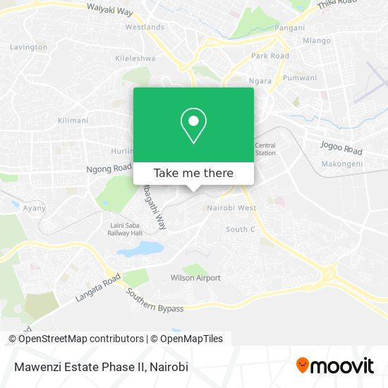Mawenzi Estate Phase II map