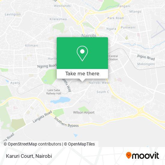 Karuri Court map