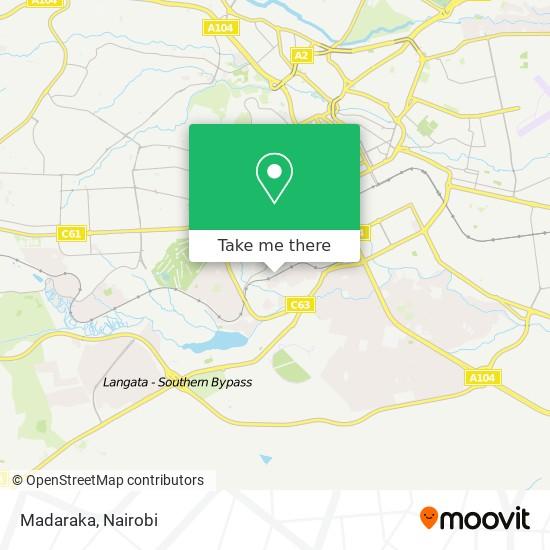 Madaraka map