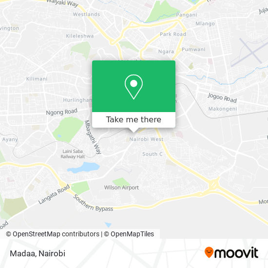 Madaa map