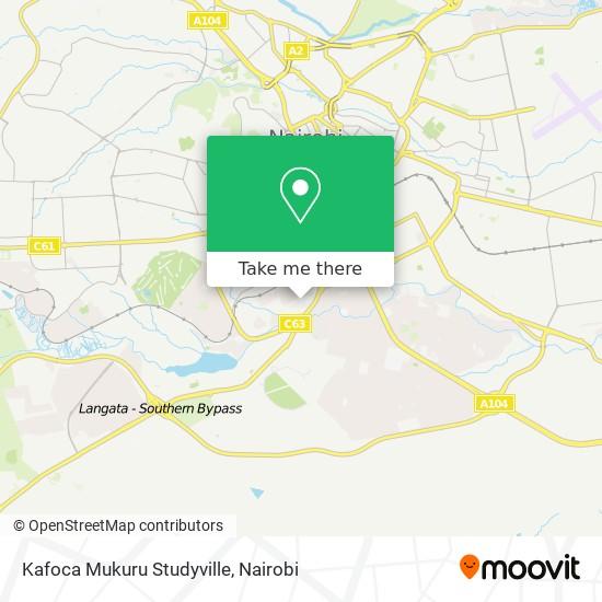 Kafoca Mukuru Studyville map