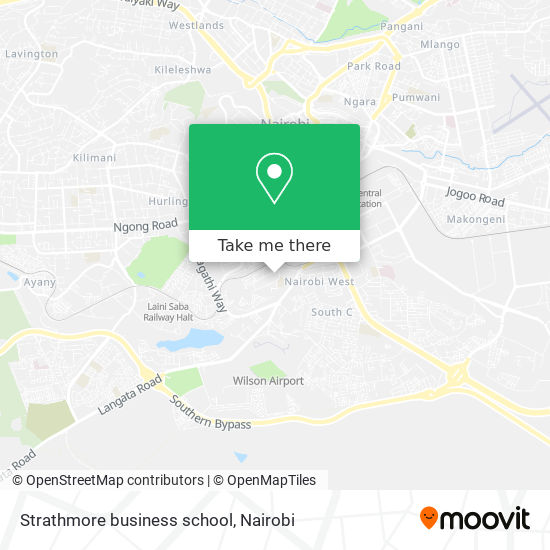 Strathmore business school map