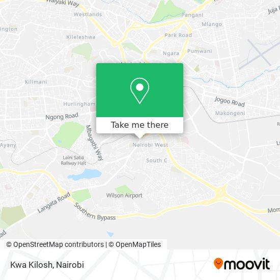 Kwa Kilosh map