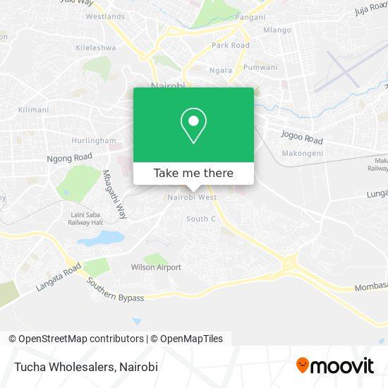 Tucha Wholesalers map