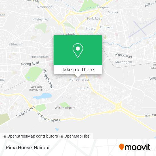 Pima House map