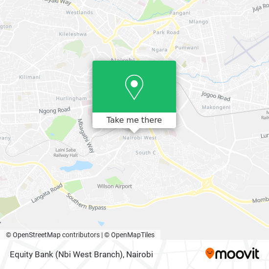Equity Bank (Nbi West Branch) map