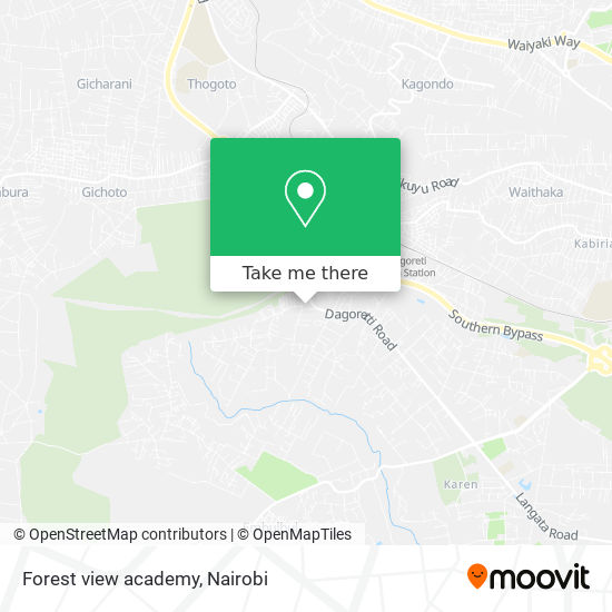 Forest view academy map