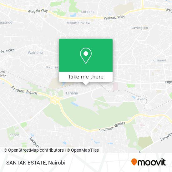 SANTAK ESTATE map