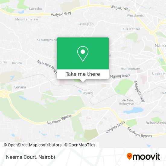 Neema Court map