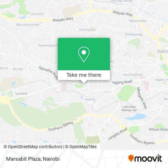 Marsabit Plaza map