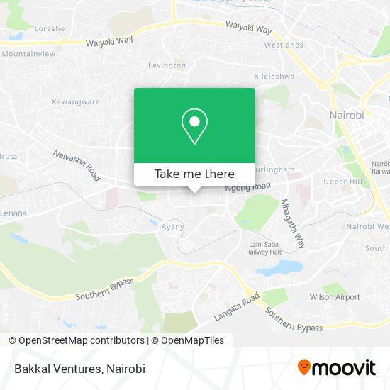 Bakkal Ventures map