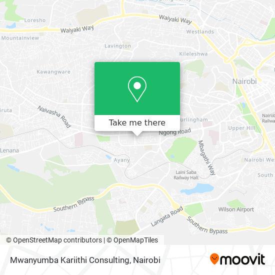 Mwanyumba Kariithi Consulting map