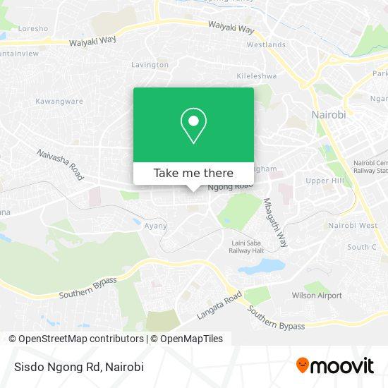 Sisdo Ngong Rd map