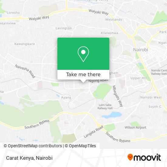 Carat Kenya map