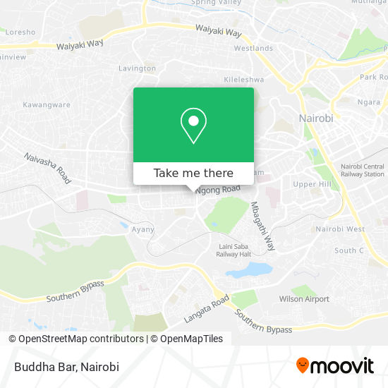 Buddha Bar map