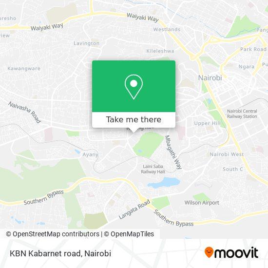 KBN Kabarnet road map