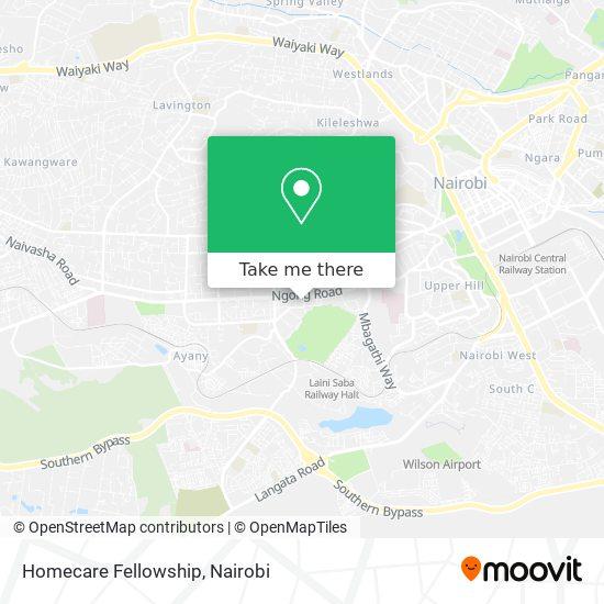 Homecare Fellowship map