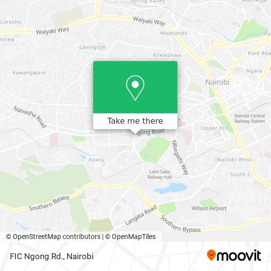 FIC Ngong Rd. map