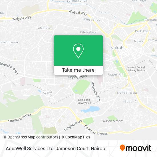 AquaWell Services Ltd, Jameson Court map