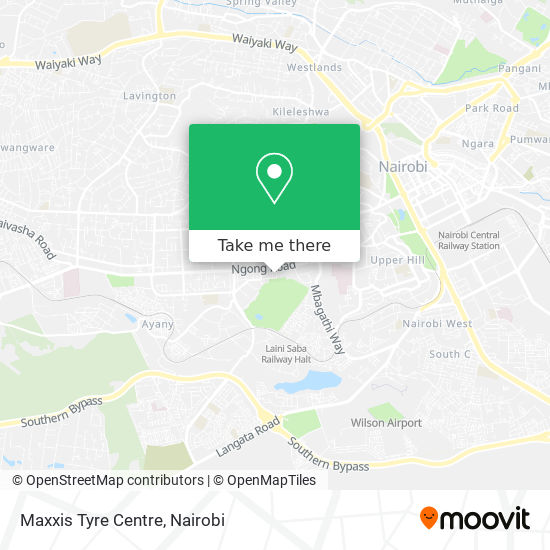 Maxxis Tyre Centre map