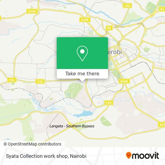 Syata Collection work shop map