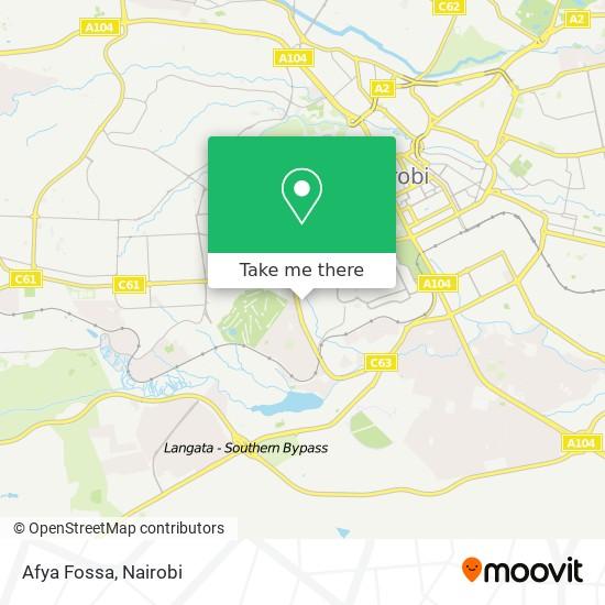 Afya Fossa map