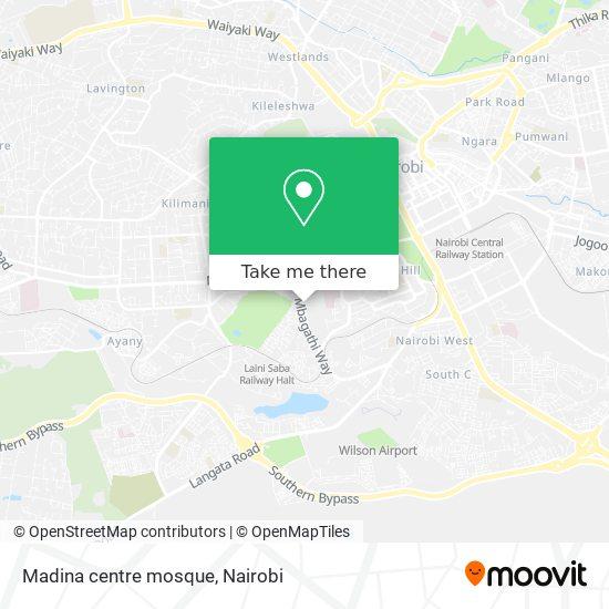 Madina centre mosque map