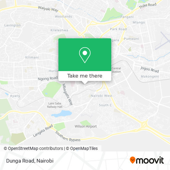 Dunga Road map