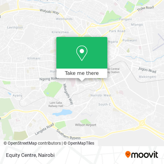 Equity Centre map