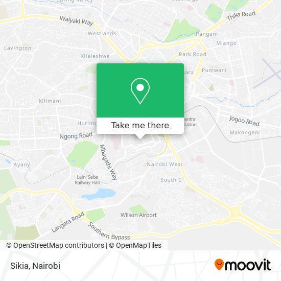 Sikia map