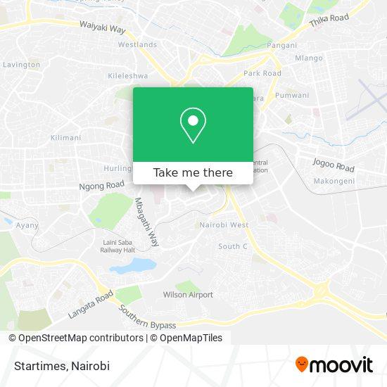 Startimes map