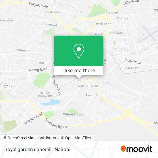 royal garden upperhill map