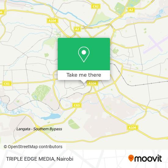 TRIPLE EDGE MEDIA map
