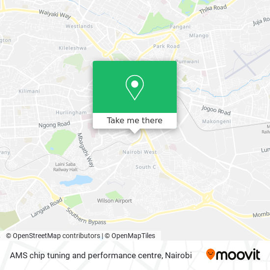 AMS chip tuning and performance centre map