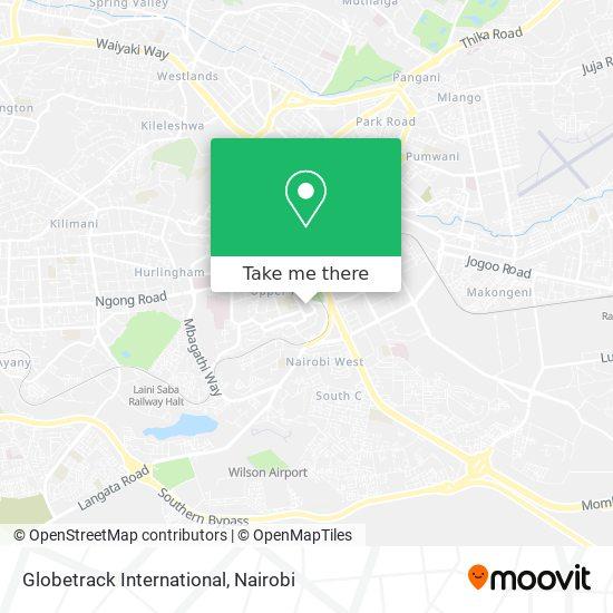 Globetrack International map