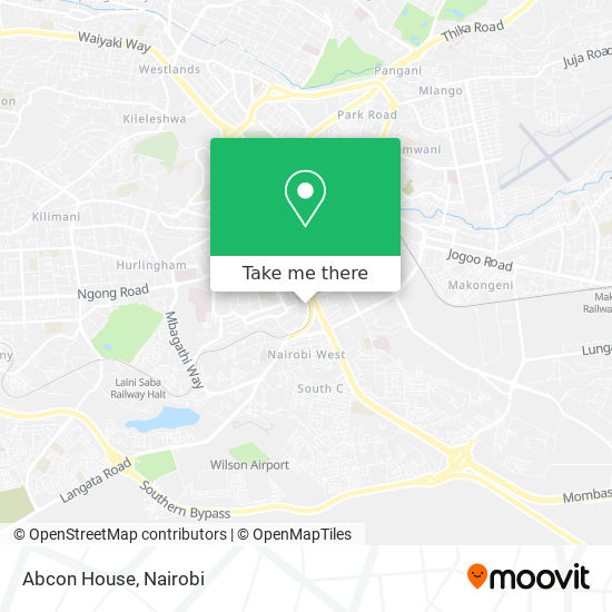 Abcon House map