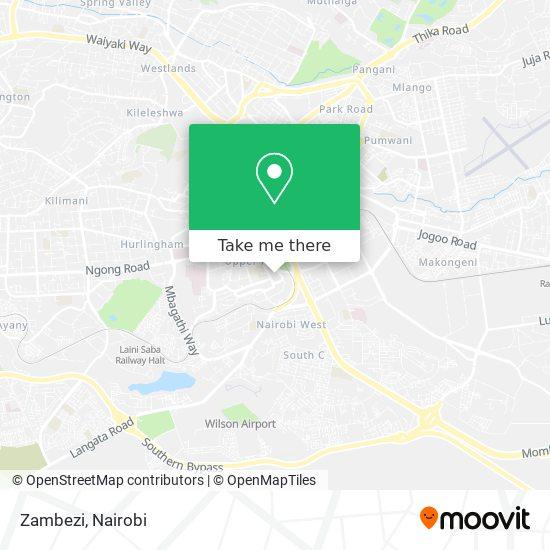 Zambezi map