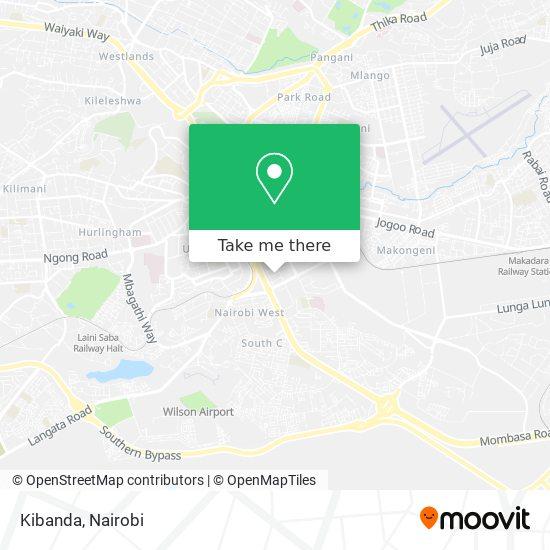 Kibanda map