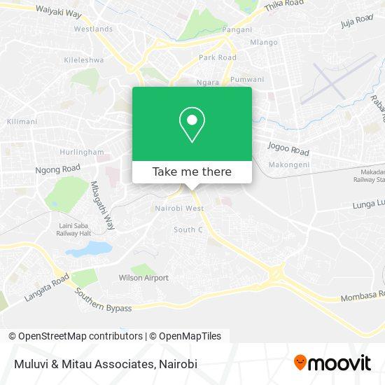 Muluvi & Mitau Associates map