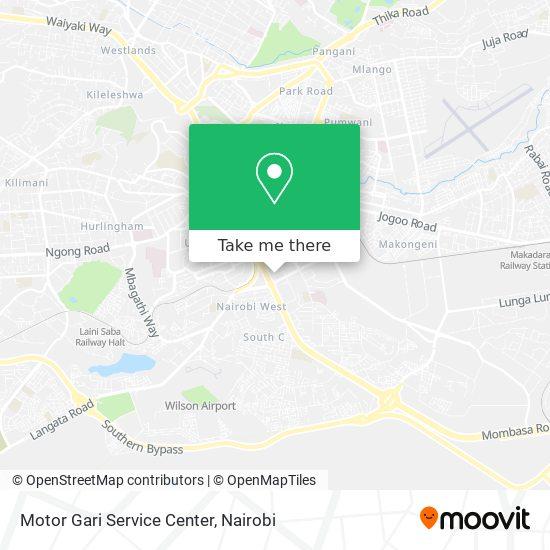 Motor Gari Service Center map