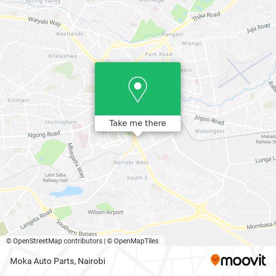 Moka Auto Parts map