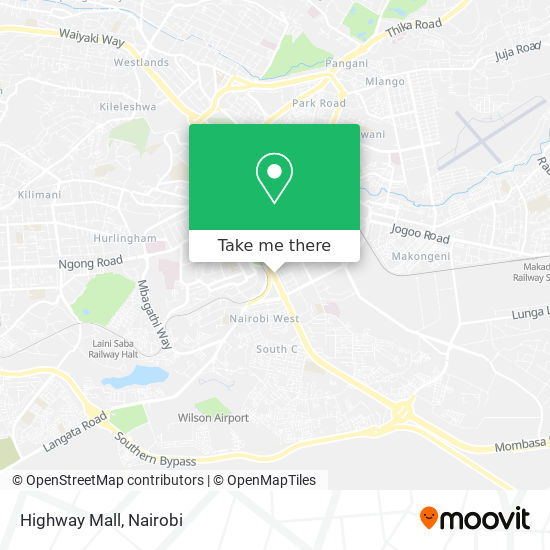Highway Mall map