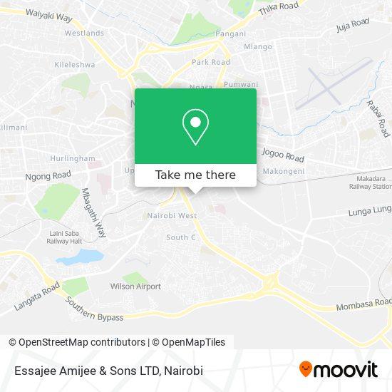 Essajee Amijee & Sons LTD map