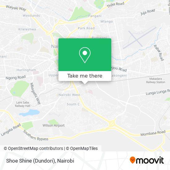 Shoe Shine (Dundori) map