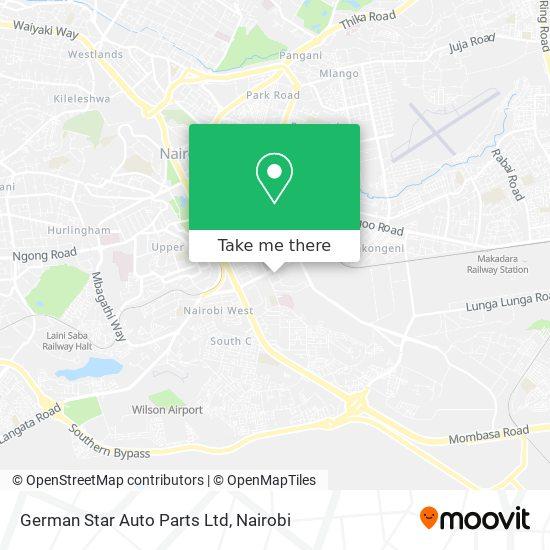 German Star Auto Parts Ltd map