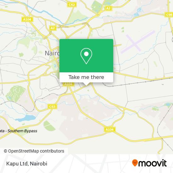 Kapu Ltd map