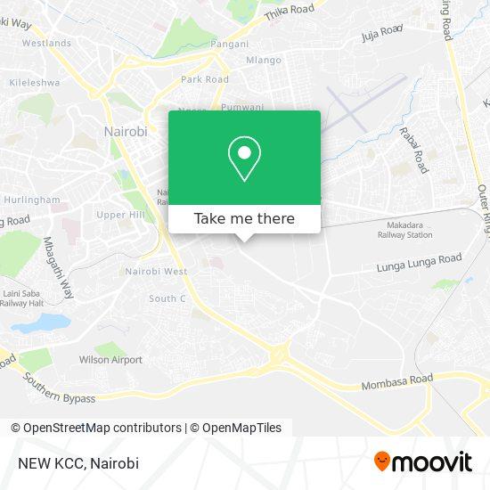 NEW KCC map