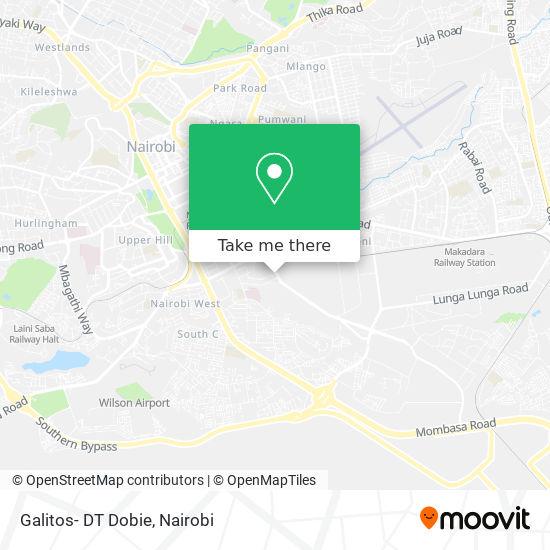 Galitos- DT Dobie map